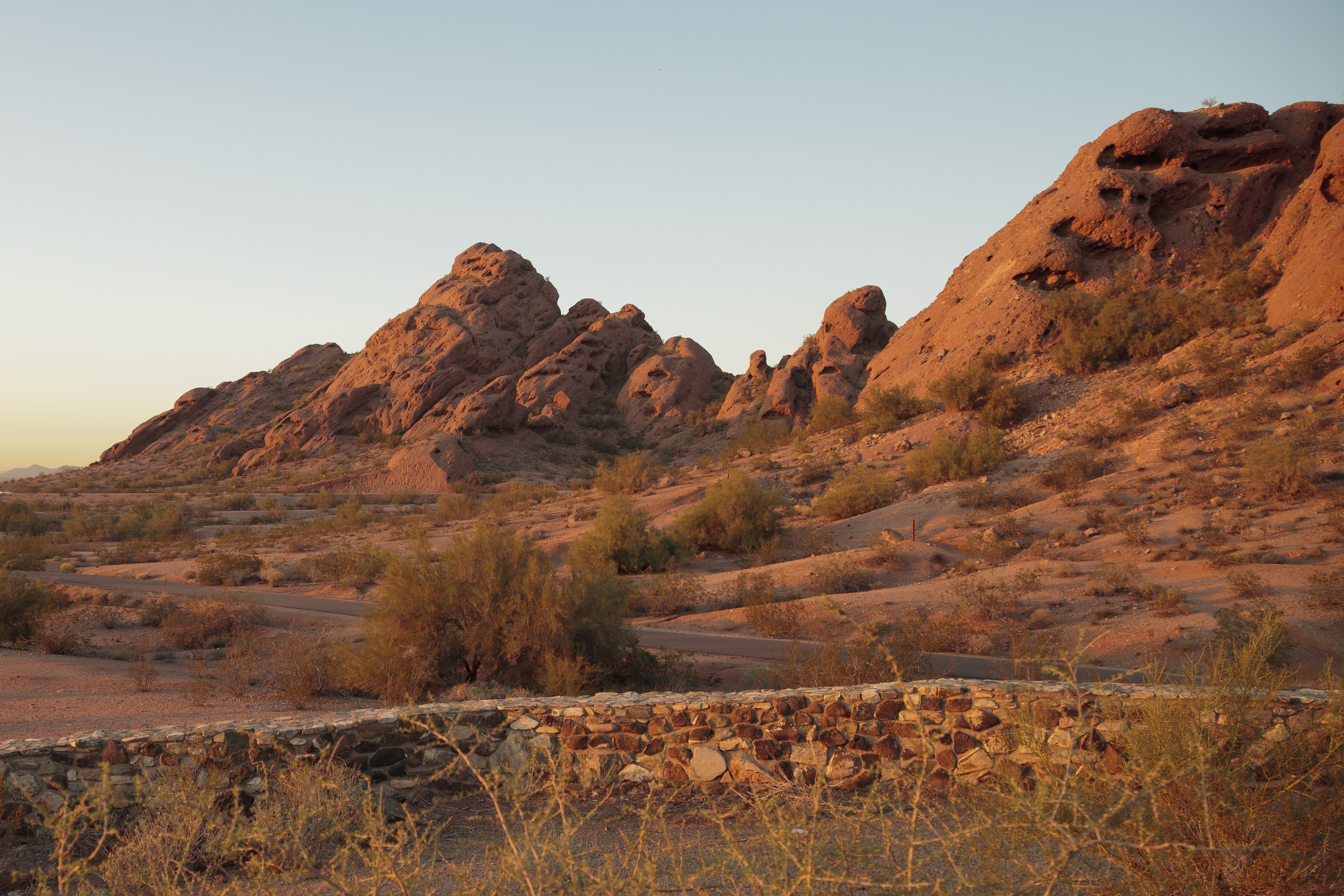 Papago Park recreation park in Phoenix Az